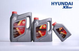 информационные материалы по маслам для бензиновых двигателей Hyundai XTeer