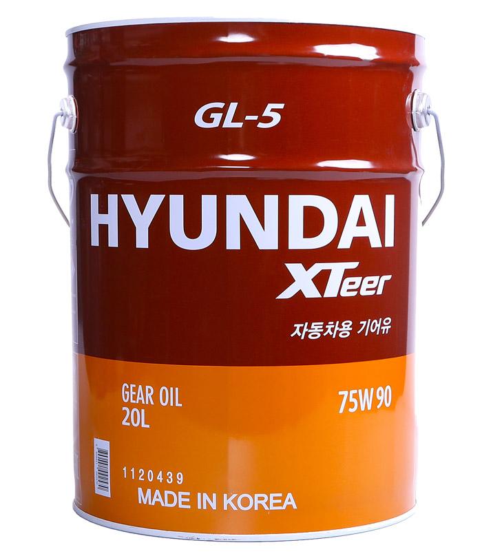 hyundai_xteer_gear_oil_GL-5_75w90_20_lt