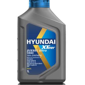 hyundai xteer diesel ultra 5w40